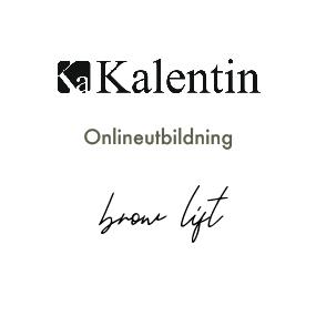Onlineutbildning browlift